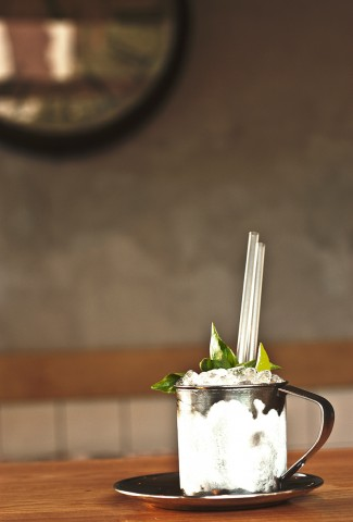 Dark n Spiced Julep